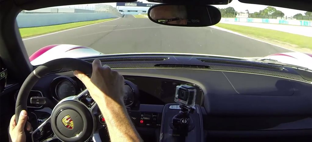 Video: Porsche 918 hits 293km/h at Phillip Island