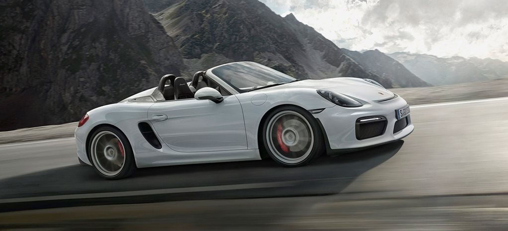 Porsche Boxster Spyder revealed