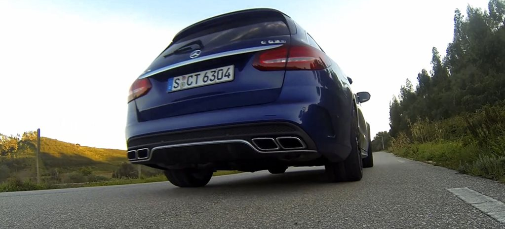 RAW SOUND: Mercedes-AMG C63 exhaust noise