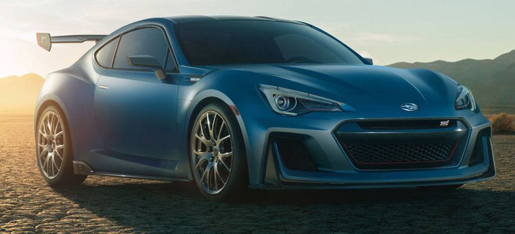 Revealed: Subaru BRZ STI concept