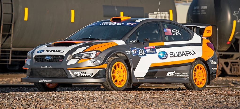 Subaru WRX STI Rallycross monster revealed