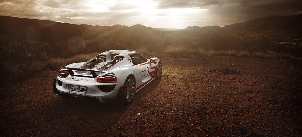 Wallpaper Wednesday Porsche 918 In The Outback