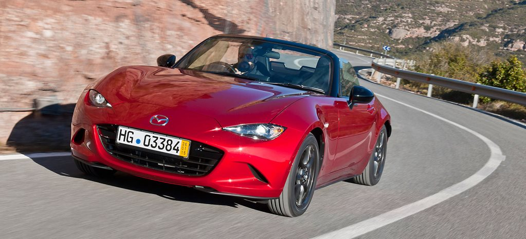 New Mazda MX-5 takes shape