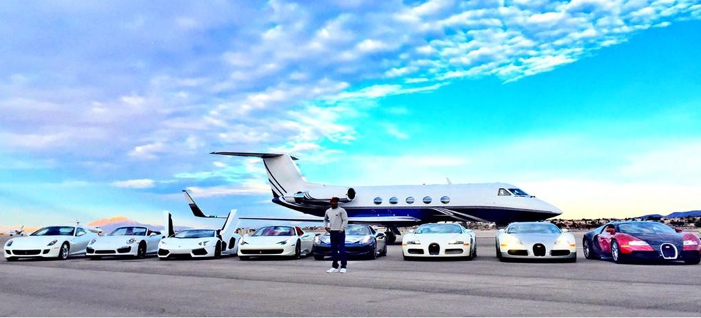 IN PICS: Floyd Mayweather's ridiculous car collection