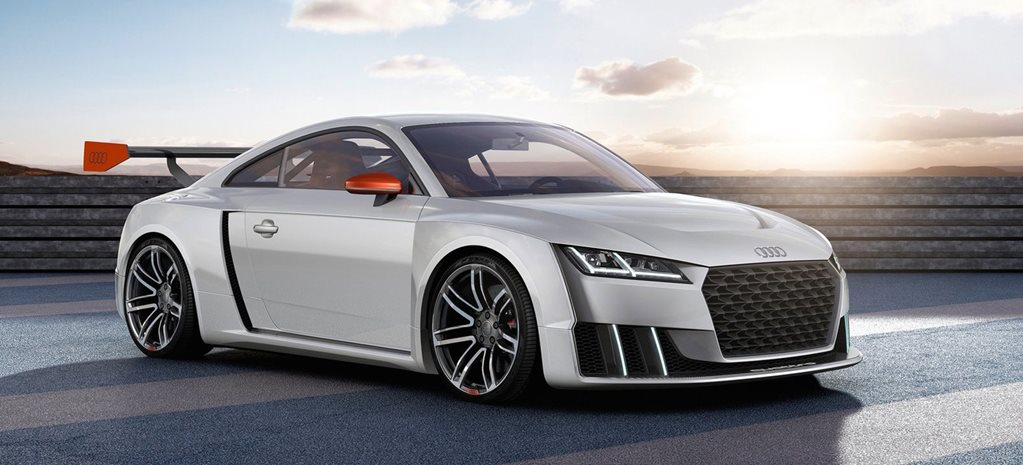 Audi TT Turbo Concept uses electric boost to do 3.6sec 0-100km/h