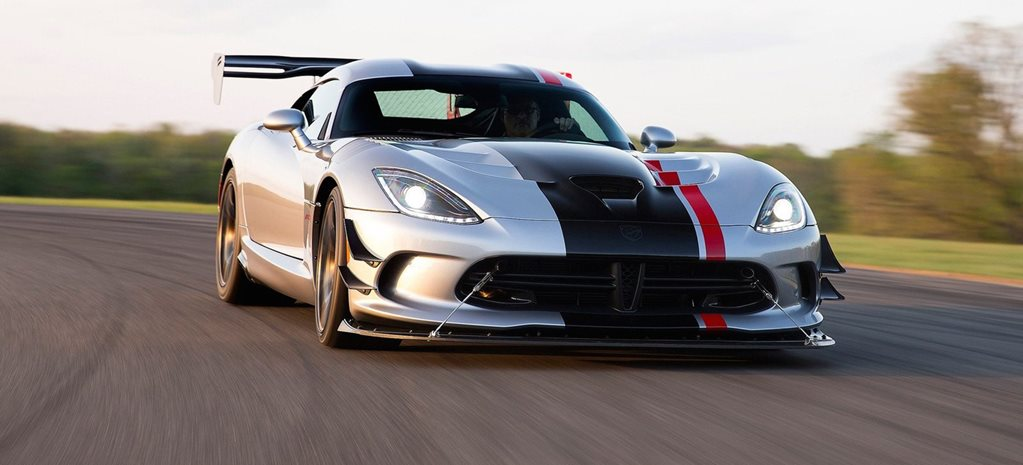 Dodge Viper ACR gets track chassis to match monster V10