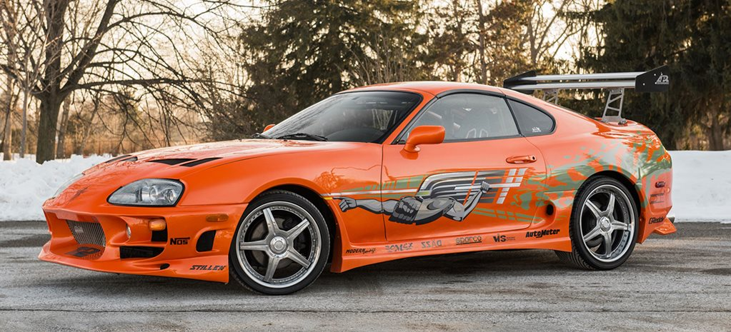 Fast and the Furious Supra sells for US$185K