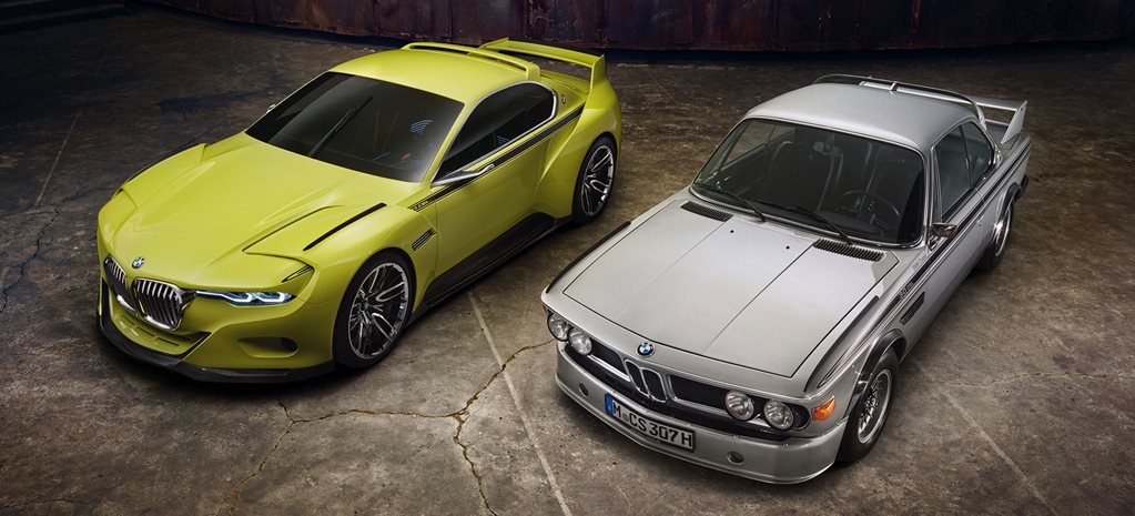 New-age BMW 3.0 CSL revealed