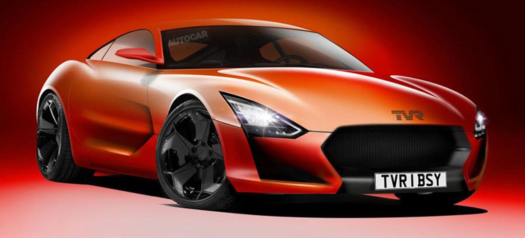 TVR returns with new V8 sports car