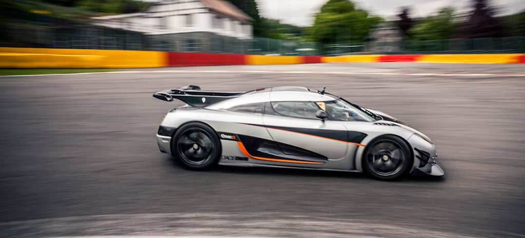 Koenigsegg One:1 Spa onboard