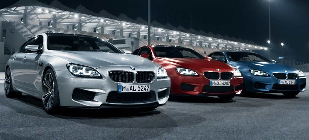 Watch the new BMW M6 in action