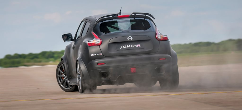 Nissan's new Juke-R 2.0 charges up Goodwood hillclimb