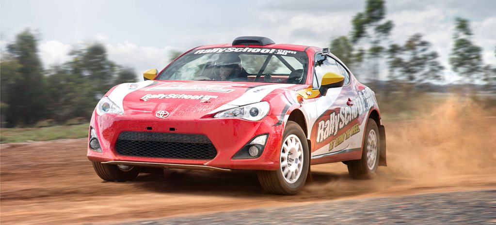 Toyota 86 Rally Car review