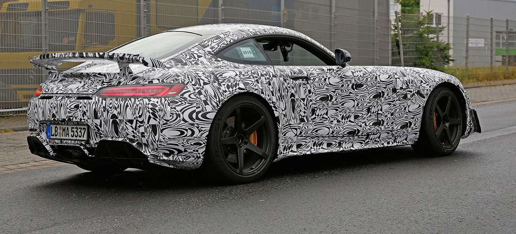 Serious aero for AMG GT 'Black Series'