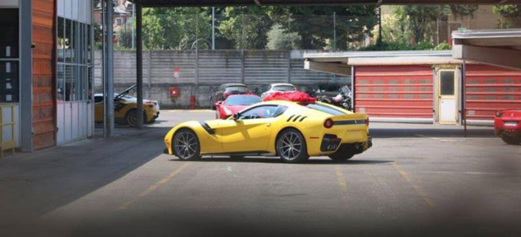 Lighter, faster Ferrari F12 Speciale spied