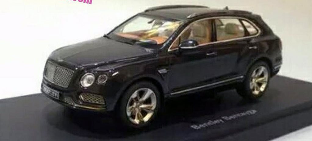 Bentley Bentayga accidentally revealed