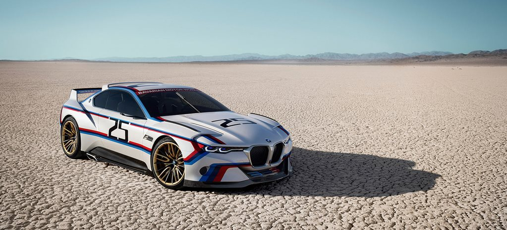 BMW CSL Hommage R revealed