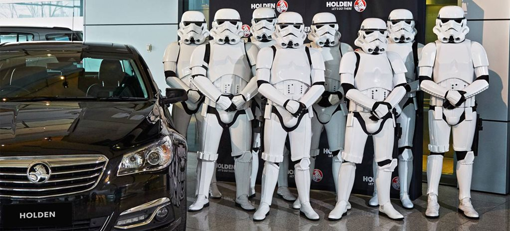 Holden joins forces with Star Wars