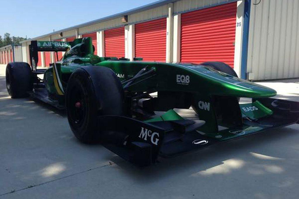 Team Lotus F1 car for sale on Craigslist