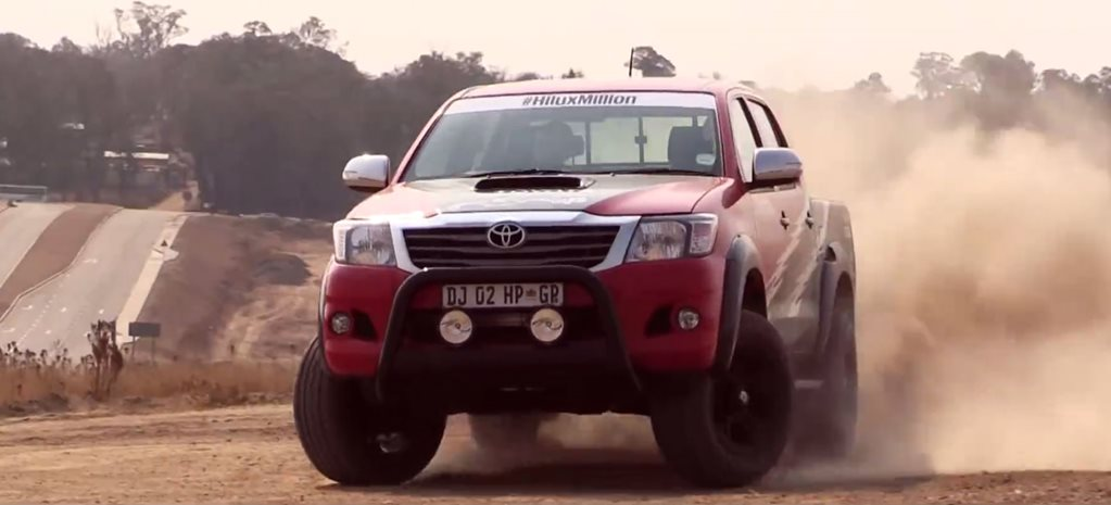 Toyota builds IS F powered Hilux
