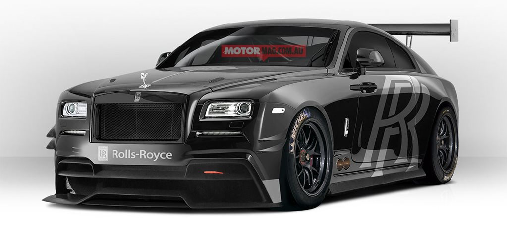 Sweet Dream: Rolls-Royce Wraith GT3