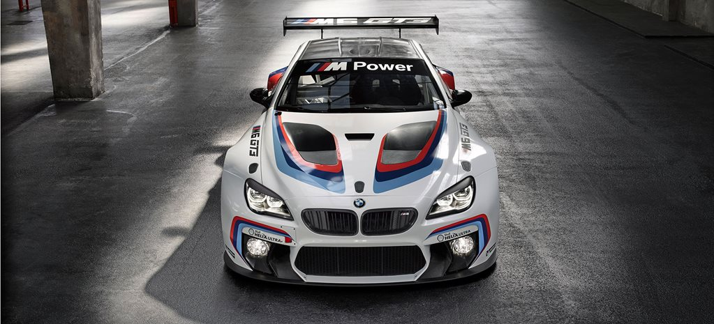 Frankfurt Motor Show: BMW M6 GT3 officially revealed