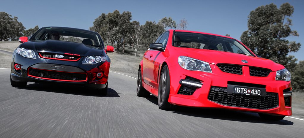 From the vault: HSV GTS vs FPV R-Spec