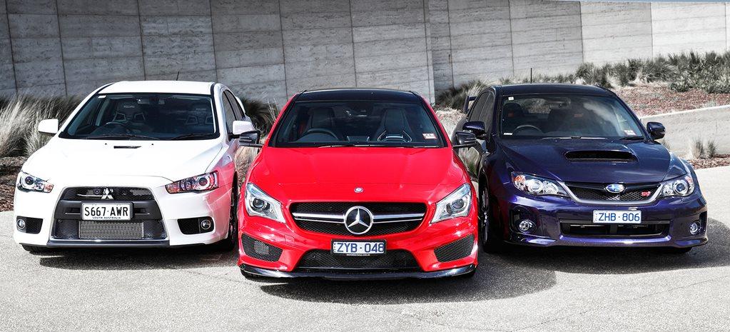 Evo X Mr >> Cla 45 Amg V Lancer Evo X Mr V Subaru Wrx Sti