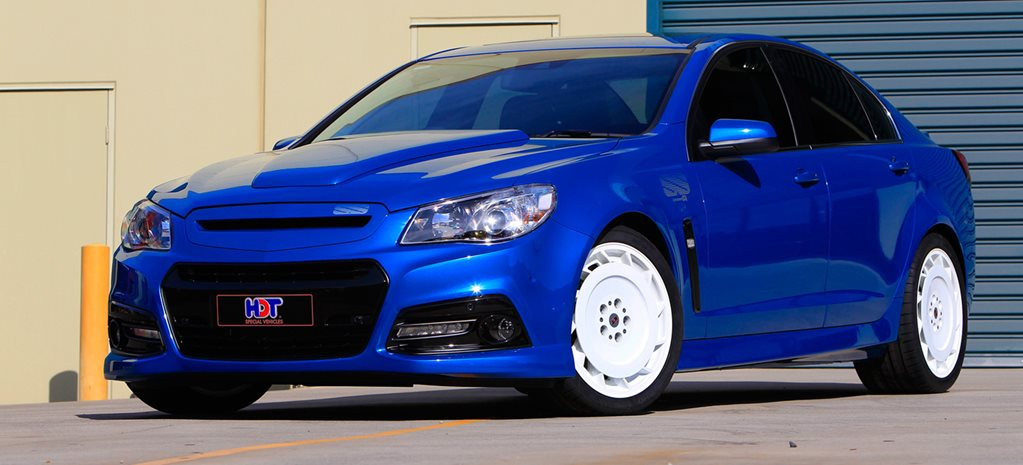 VF Commodore gets 'Blue Meanie' treatment