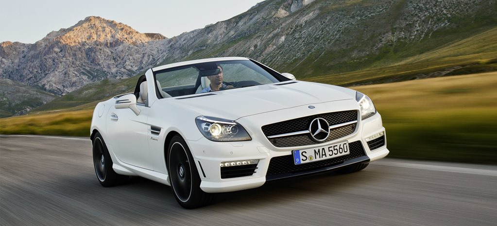 Mercedes-AMG SLK55 to become V6 bi-turbo