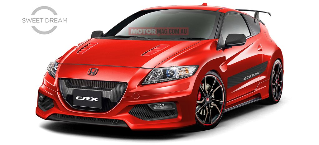 Sweet Dream: Honda CR-X