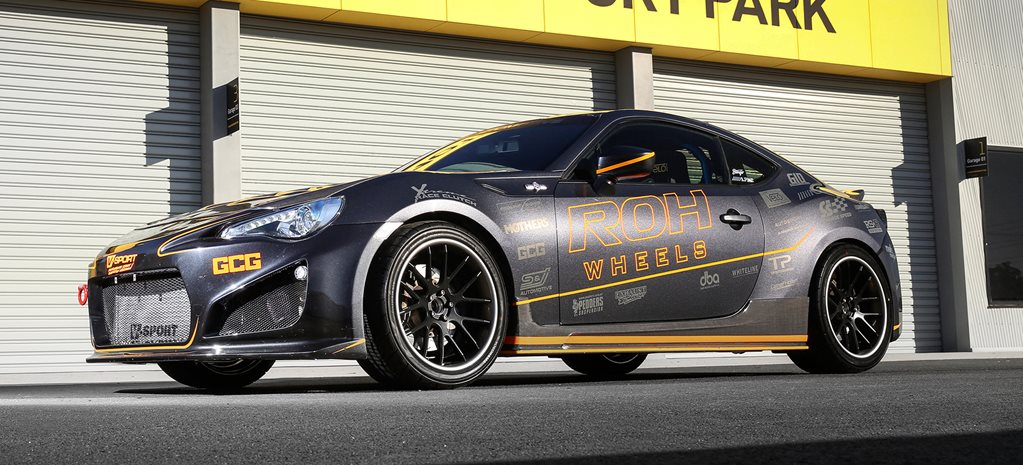 Hot Tuner 2015: ROH Wheels Toyota 86