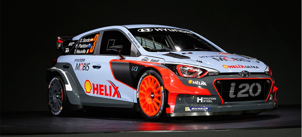 Hyundai reveals new i20 WRC