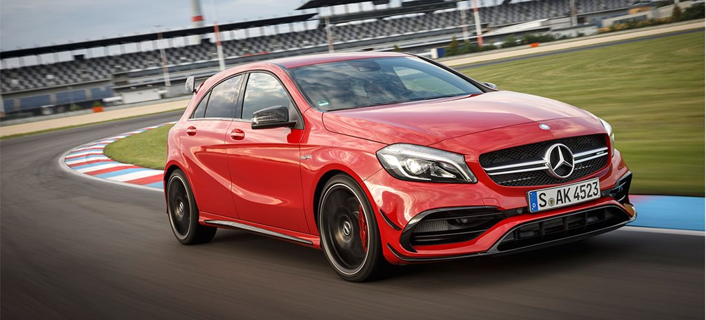 Eight little Mercedes-AMG A45 things