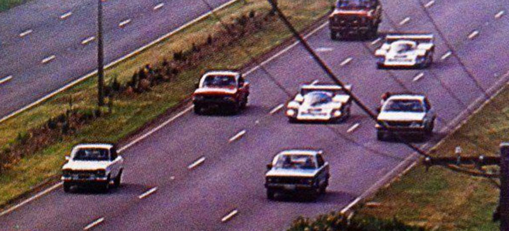 When Porsche drove its 956 racers to Sandown