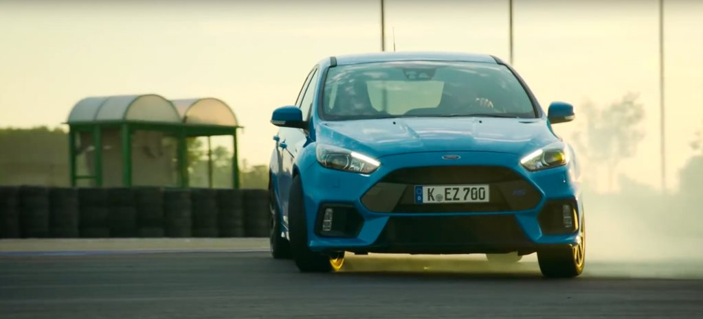 Ford's Drift mode evaluated by the Stig
