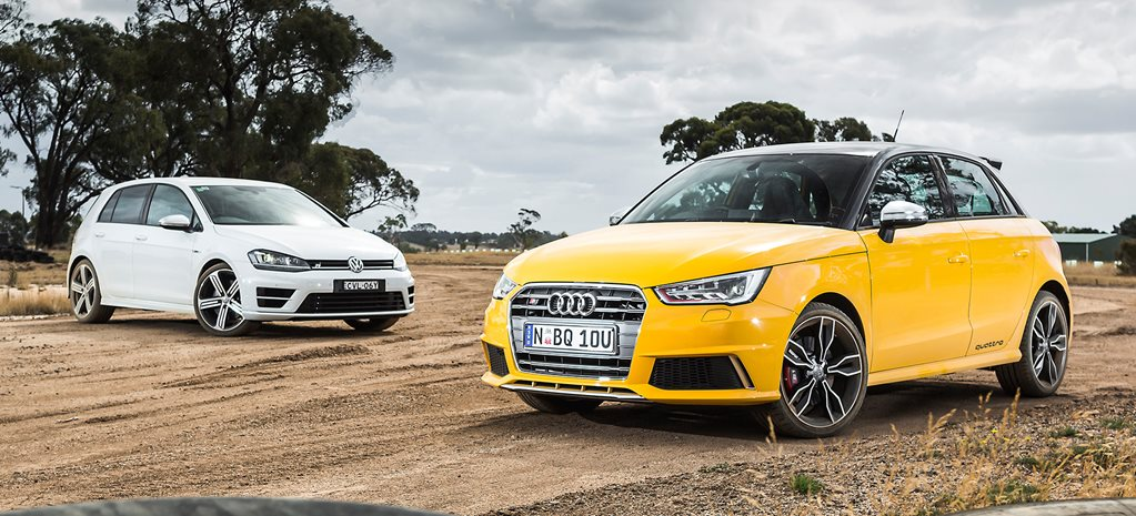 Audi S1 vs Volkswagen Golf R