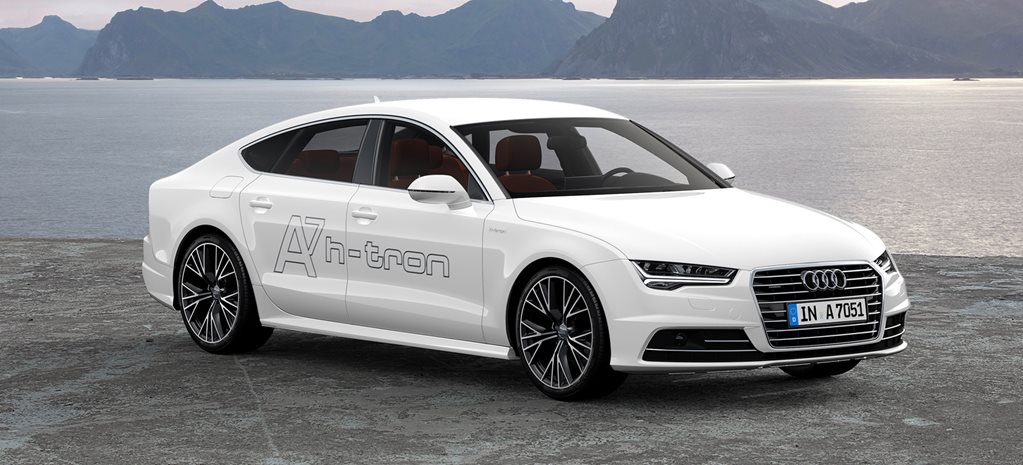 Audi A7 h-tron review