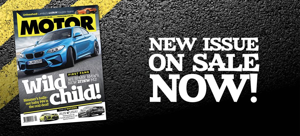 MOTOR April 2016 issue preview