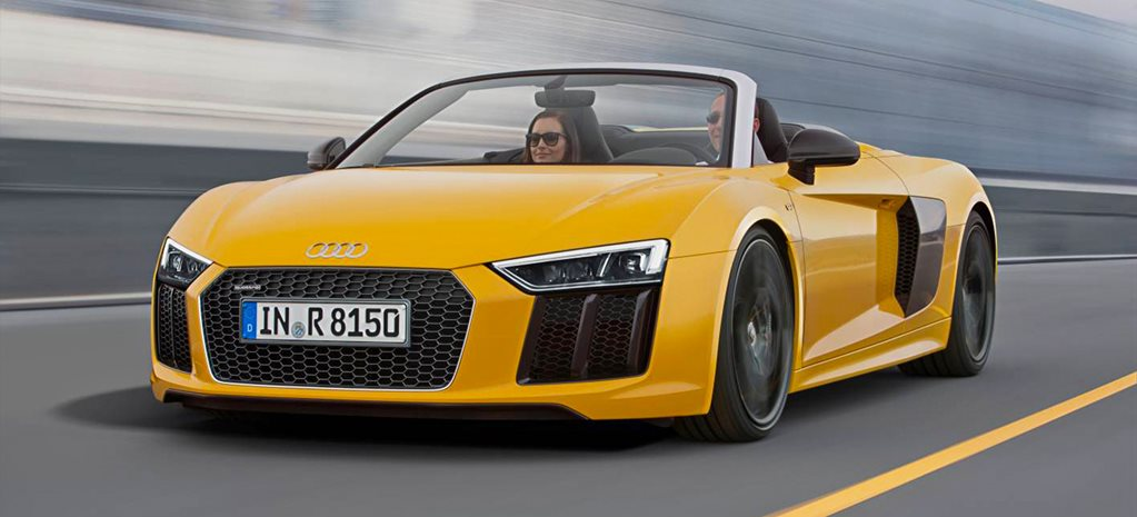New York Motor Show: Audi R8 Spyder revealed