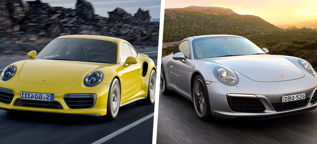 Porsche 911 Carrera vs 911 Turbo