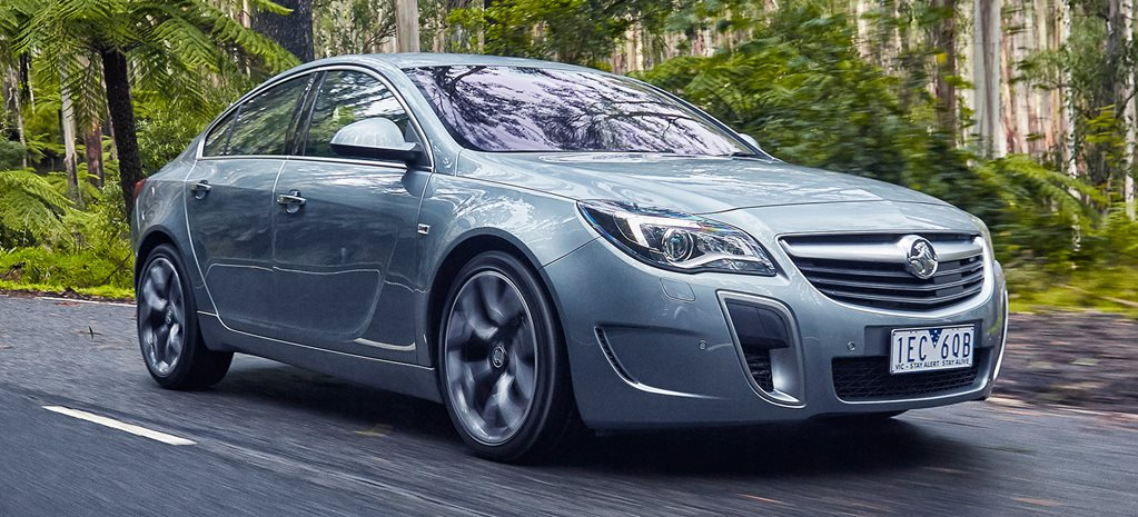 Holden Insignia VXR review