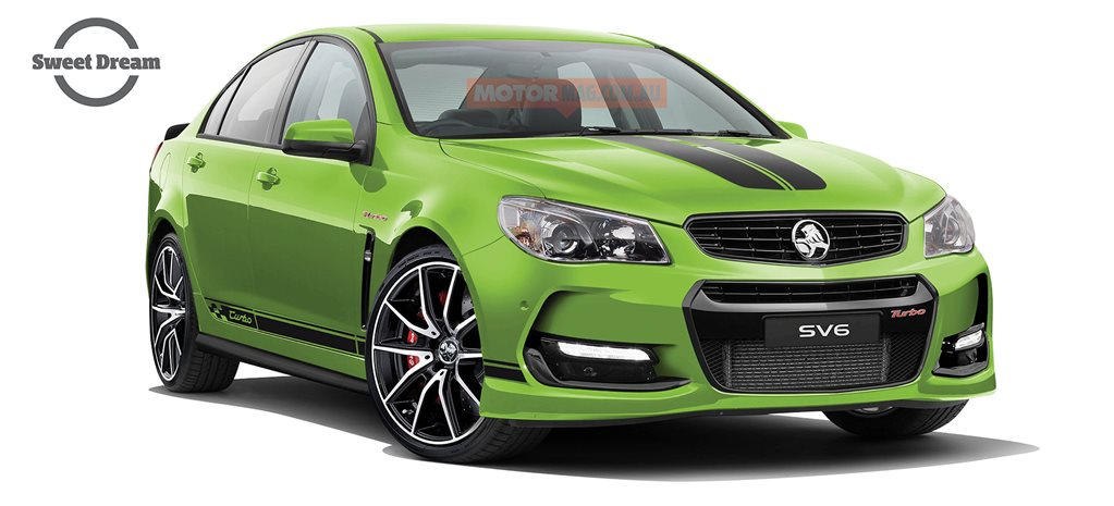 Holden Commodore SV6T: Sweet Dream