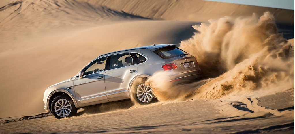 Bentley's Bentayga sales boost