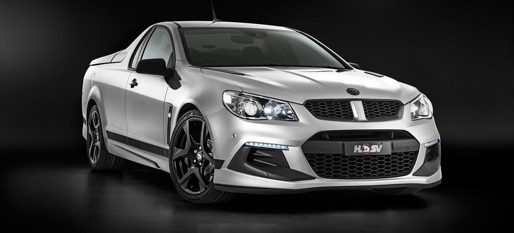 HSV R8 SV Black Editions revealed