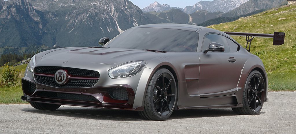 Mansory build 530kW Mercedes-AMG GT S