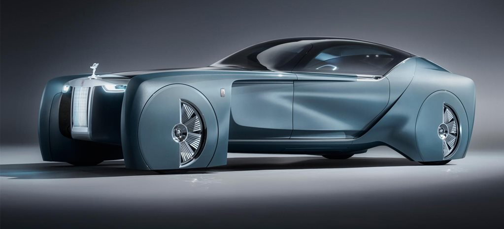 Rolls-Royce Vision 100 concept revealed