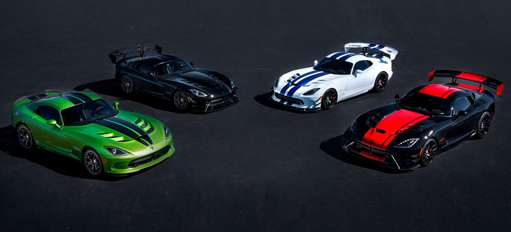 Dodge Viper dies, final editions revealed