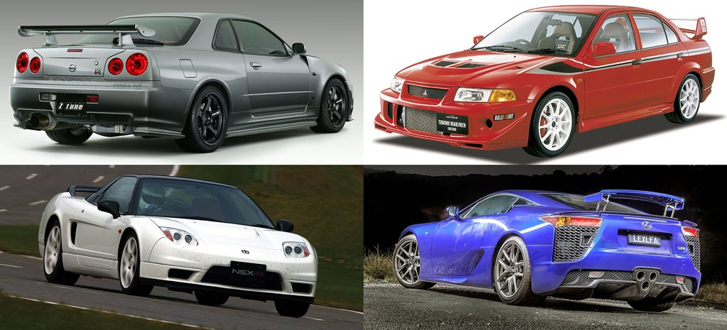 Nine most desirable Japanese cars