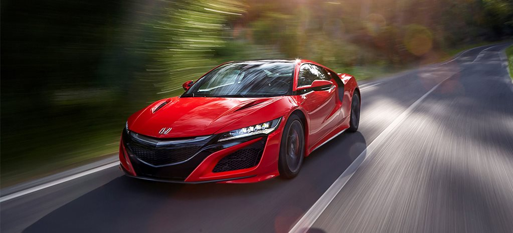 2017 Honda NSX review